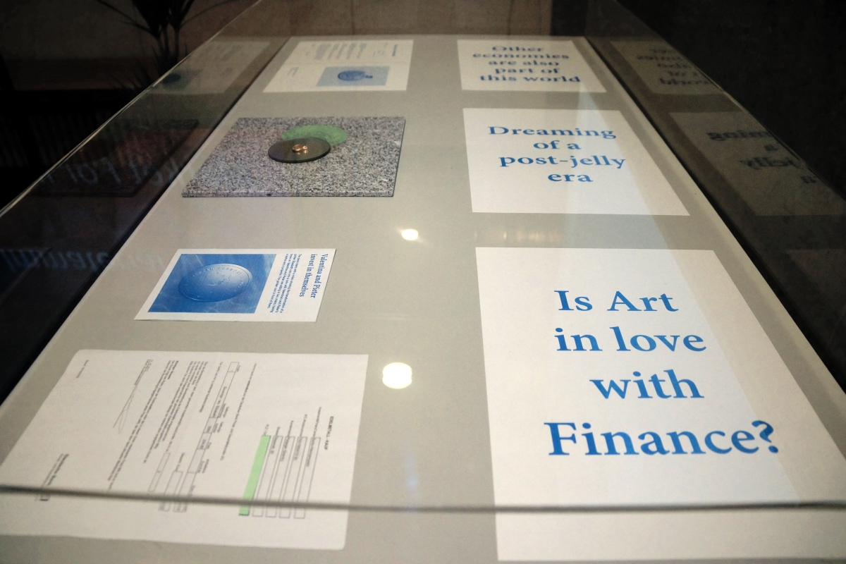 Market for Immaterial Value, transmediale 2016