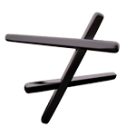 transmediale transversial symbol