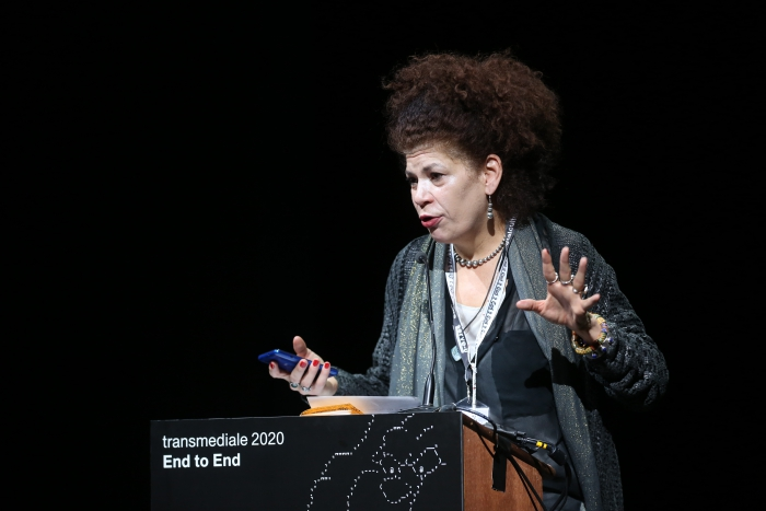 Diana McCarty during Exchange #1: The Wheres and Whens of Networks