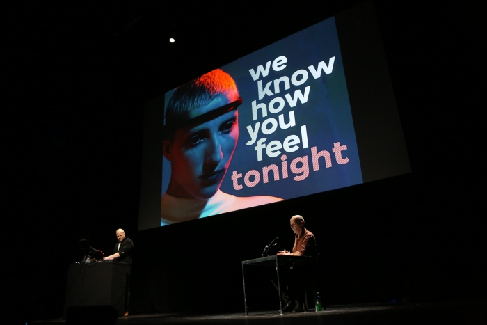 We Are Not Sick (John Longwalker & Geert Lovink) during Sad by Design