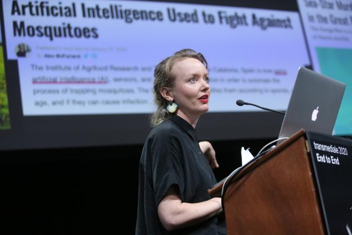 Tega Brain during Exchange #5: Neural Network Cultures