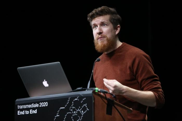 Fabian Offert during Exchange #5: Neural Network Cultures